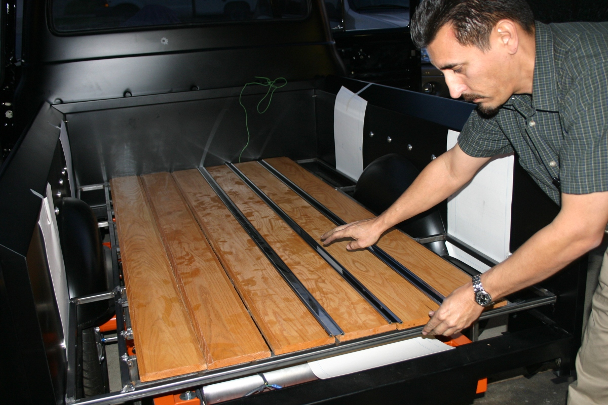 Bedwood Installation For A Dropped Truck Master Car